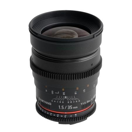 Samyang 35mm T1.5 Nikon VDSLR RS1052614