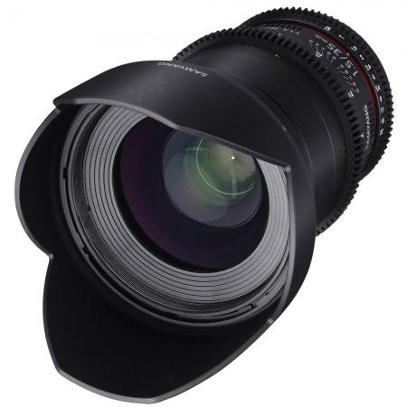 Samyang 35mm T1.5 VDSLR II - montura Canon EF