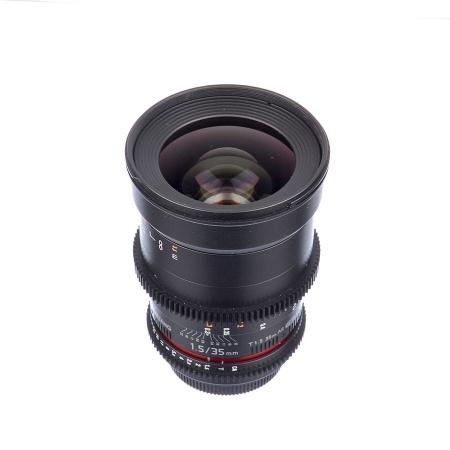 Samyang 35mm T1.5 VDSLR II - montura Canon EF - SH7582