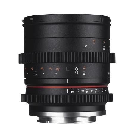 Samyang 50mm T1.3 VDSLR Fuji X
