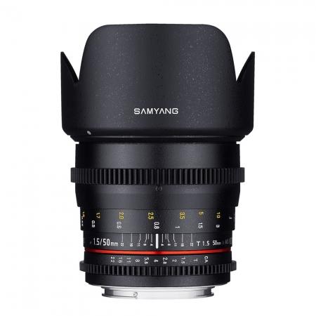Samyang 50mm T1.5 AS UMC VDSLR - montura Nikon