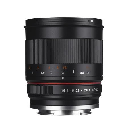 Samyang 50mm f/1.2 - montura MFT negru