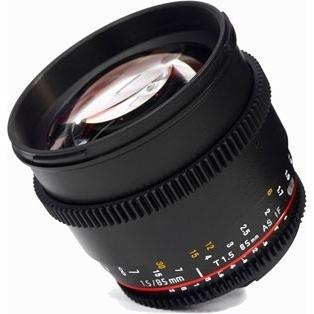 Samyang 85mm T1.5 Nikon VDSLR II
