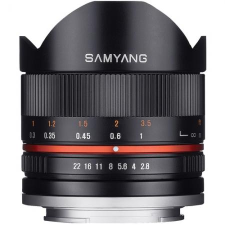 Samyang 8mm F2.8 Fisheye II Sony E black - RS125013872
