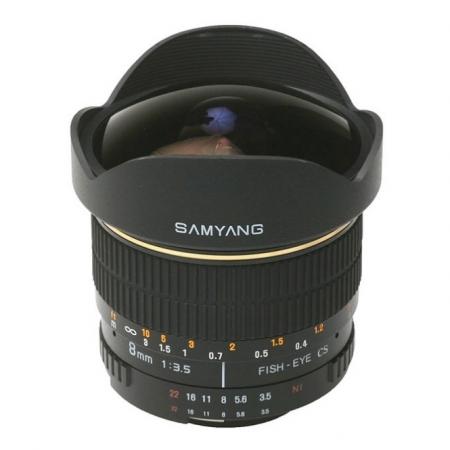 Samyang 8mm F3.5 Samsung NX - RS1044143