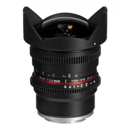 Samyang 8mm T3.8 VDSLR CSII - obiectiv Fish-eye montura Sony E