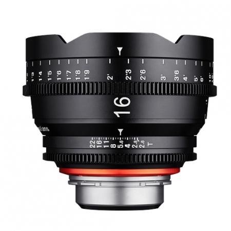 Samyang XEEN 16mm T2.6 FF CINE - montura Canon, negru