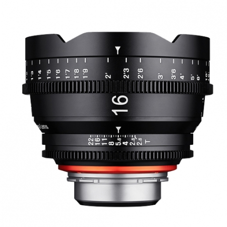 Samyang XEEN 16mm T2.6 FF CINE - montura Sony E, negru