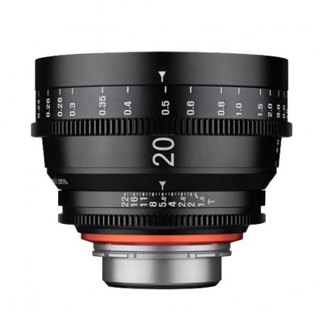 Samyang XEEN 20mm T1.9 FF CINE - montura Sony E, negru