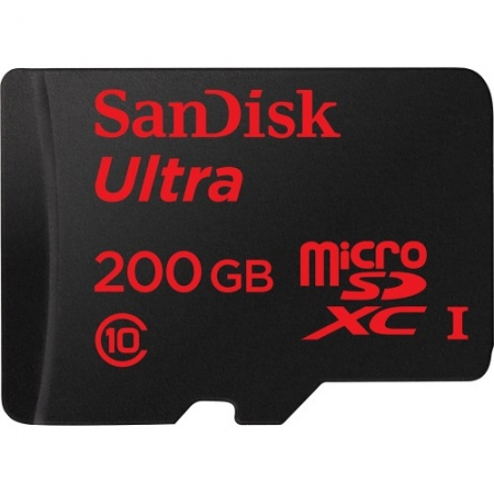 SanDisk Micro SD 200GB Ultra - Android 90MB/s. SDSDQUAN-200G-G4A