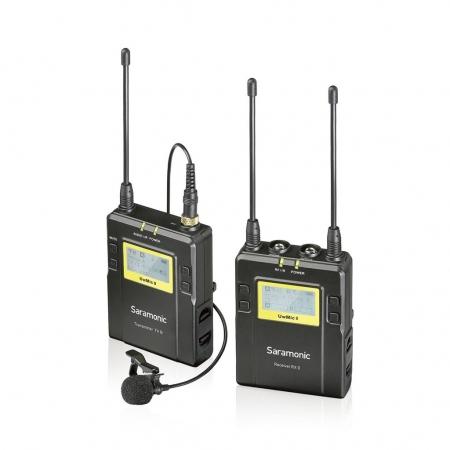 Saramonic UwMic9 (TX9+RX9)- Kit Lavaliera XLR+ jack RS125033869