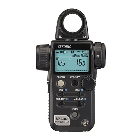 Sekonic L-758D DigitalMaster - exponometru / flashmetru