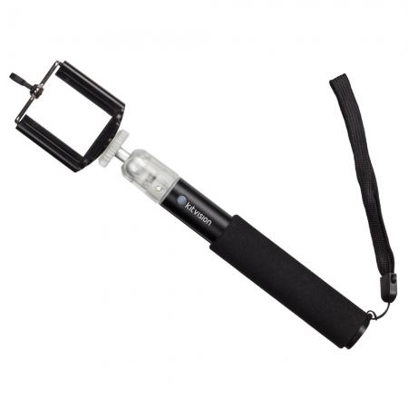 Selfie Stick extensibil pro cu suport de telefon, 4 segmente, lungime : 50 cm (18 cm strans) RS125020077