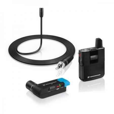 Sennheiser AVX-ME2 SET-3-EU - kit lavaliera, transmitator wireless si receptor XLR