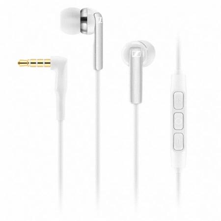 Sennheiser CX 2.00i - Casti stereo cu microfon pentru Apple - alb