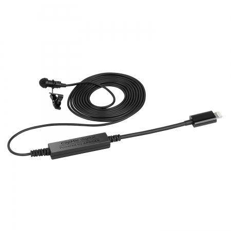 Sennheiser Clipmic Digital - Microfon lavaliera digital cu conector Lightning