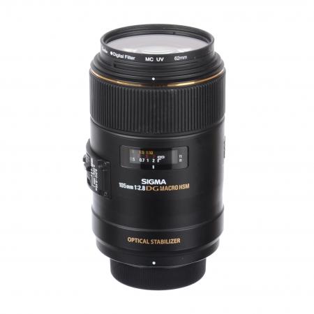 Sigma 105mm F2.8 DG Macro pentru Nikon SH6707-3