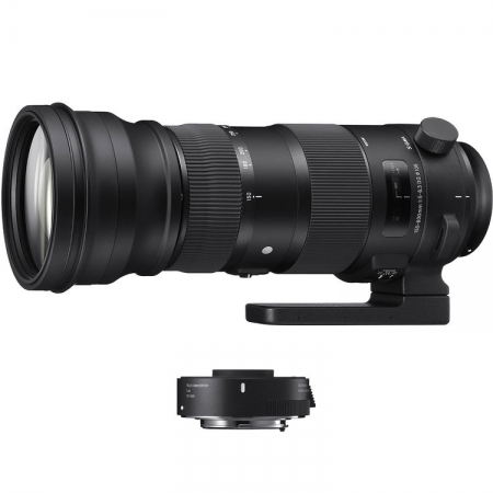 Sigma 150-600mm F/5-6.3 OS Canon [S] kit Sigma TC-1401 1.4x