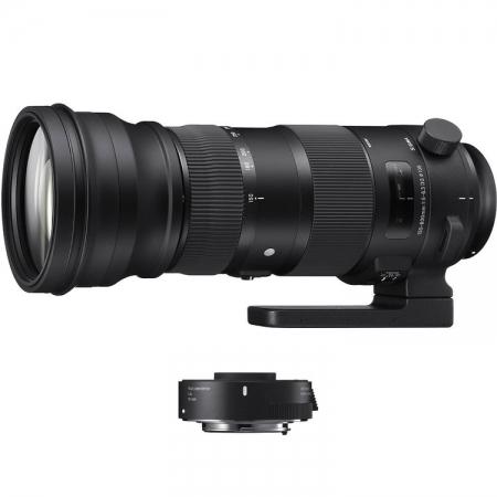 Sigma 150-600mm F/5-6.3 OS Nikon [S] kit Sigma TC-1401 1.4x