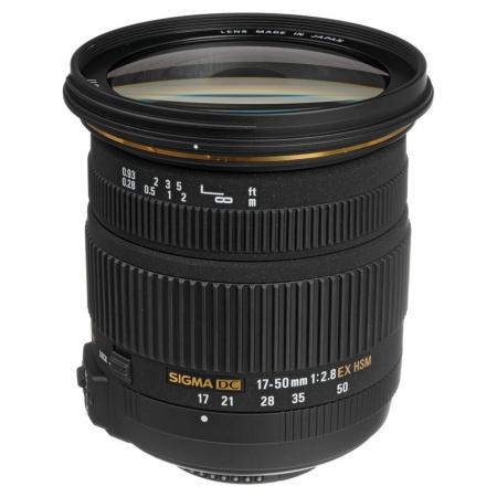 Sigma 17-50mm f/2.8 DC EX HSM OS (stabilizare de imagine) - Nikon AF-S DX