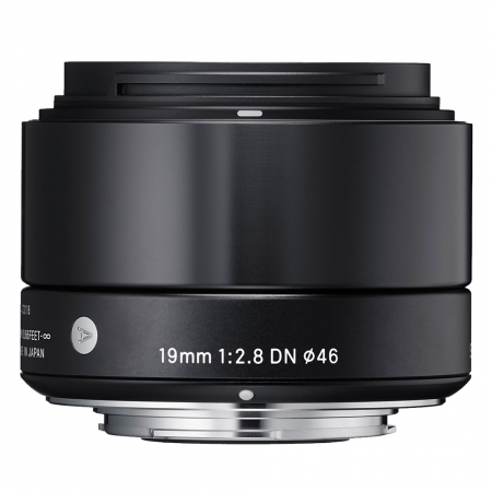 Sigma 19mm F2.8 E-mount black [A] RS125003511