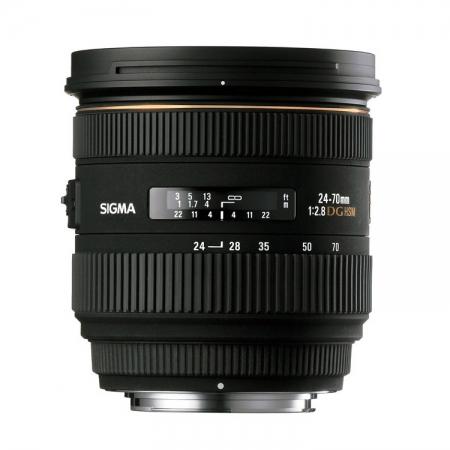 Sigma 24-70mm f/2.8 IF EX DG HSM - Nikon AF-S FX