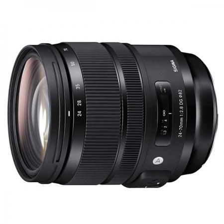 Sigma Obiectiv 24-70mm f/2.8 OS DG HSM Canon Art - montura Canon, negru