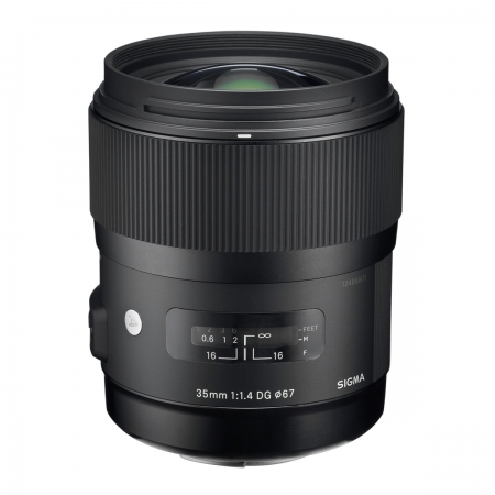 Sigma 35mm F1.4 DG HSM Canon [A] RS1051925-3