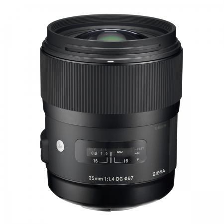 Sigma 35mm F1.4 DG HSM Nikon [A] RS1051927-5