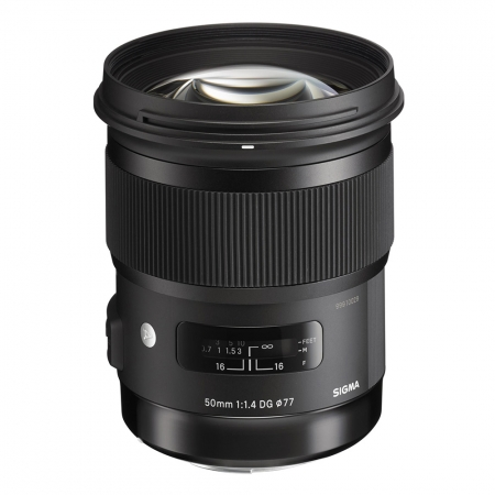 Sigma 50mm f/1.4 DG HSM Canon [A] RS125010091-3