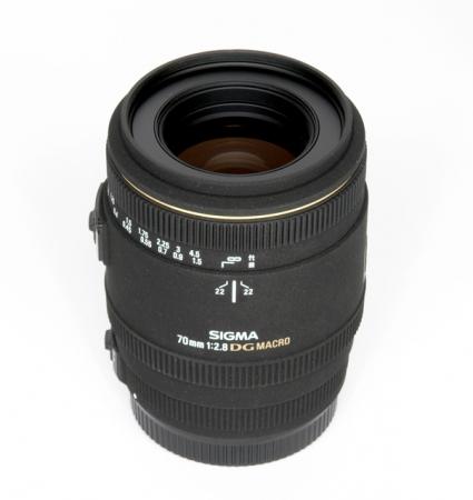 Sigma 70mm f/2.8 Macro EX DG Nikon - RS10107469