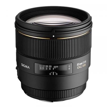 Sigma 85mm F1.4 EX DG HSM Canon RS49509554