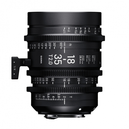Sigma Cinema 18-35mm T2 E mount