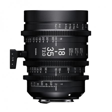 Sigma Cinema 18-35mm T2 EF mount