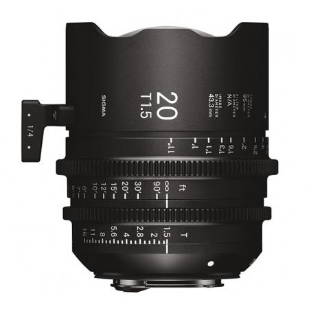 Sigma Cinema 20mm T1.5 - Sony E