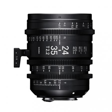 Sigma Cinema 24-35mm T2.2 EF mount