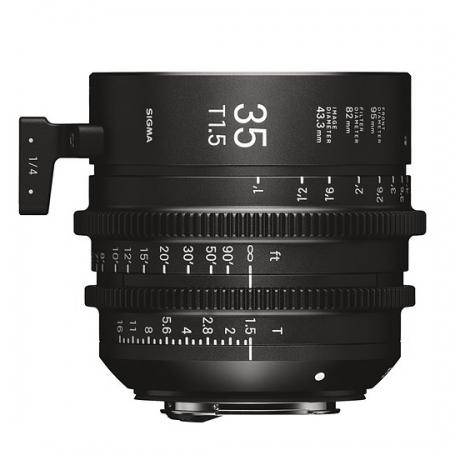 Sigma Cinema 35mm T1.5 - Sony E