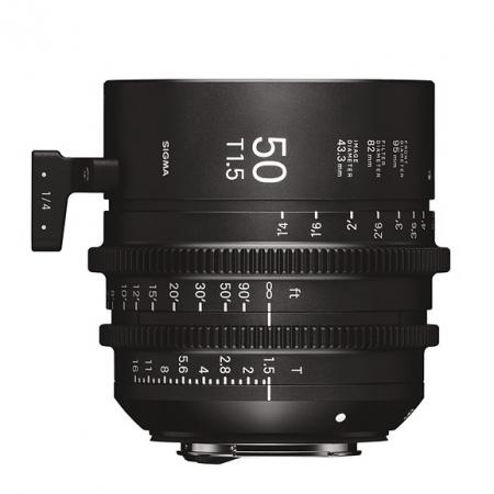 Sigma Cinema 50mm T1.5 - Canon EF