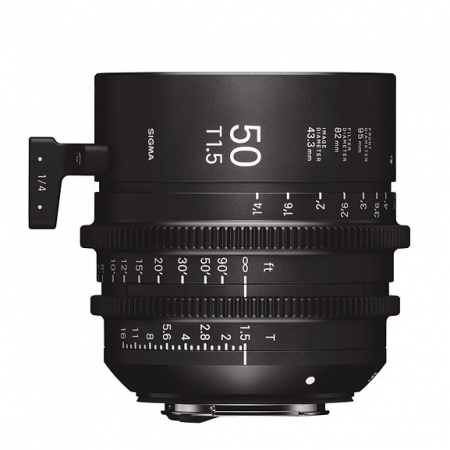 Sigma Cinema 50mm T1.5 - Sony E