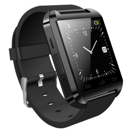 SmartWatch Tellur U8 - negru lucios