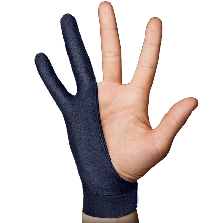 SmudgeGuard SG2 - Manusa degete L, Albastru