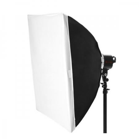 Softbox 80x80cm pentru lampa Sun-400
