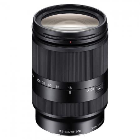 Sony 18-200mm f/3.5-6.3 OSS LE pentru Sony NEX (E-Mount)