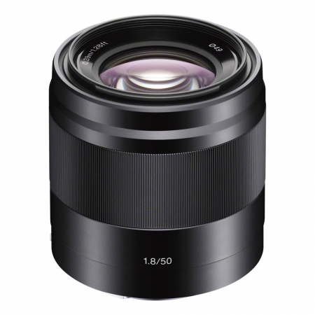 Sony 50mm f/1.8 OSS E-mount negru RS125007312-2