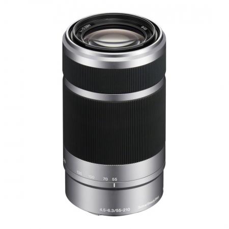Sony 55-210mm f/4.5-6.3 OSS E-Mount argintiu RS1045528-2