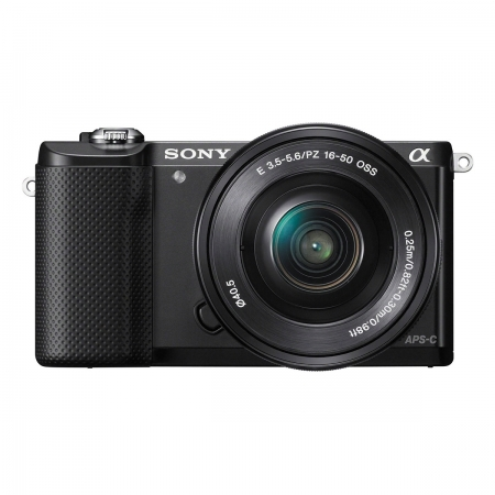 Sony Alpha A5000(ILCE-5000L/B) + SEL16-50mm E-Mount, 20.1MP,WiFi/NFC,FullHD RS125010189-18