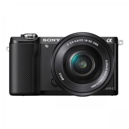 Sony Alpha A5000 KIT (ILCE-5000L/B) + SEL16-50mm