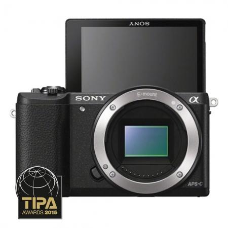 Sony Alpha A5100 body negru - mirrorless cu Wi-Fi si NFC