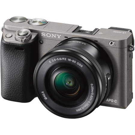 Sony Alpha A6000 Graphite + SEL16-50mm F3.5-5.6 Wi-Fi/NFC RS125033923-1