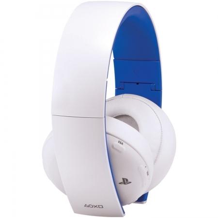 Sony Casti Wireless PS4, Alb